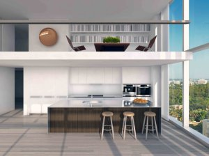 the-kitchens-are-stark-and-modern